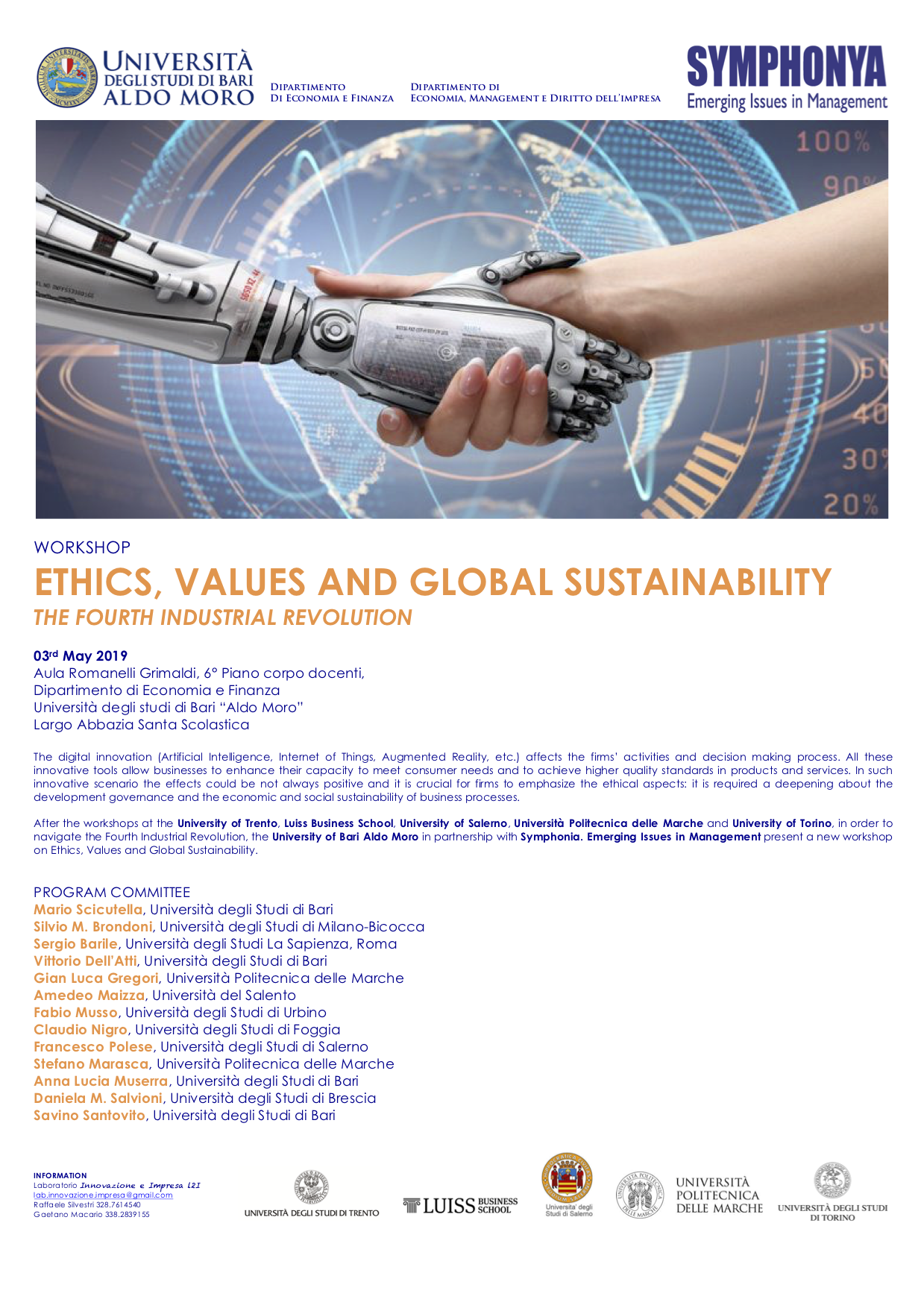 Ethics, Values and Global Sustainability